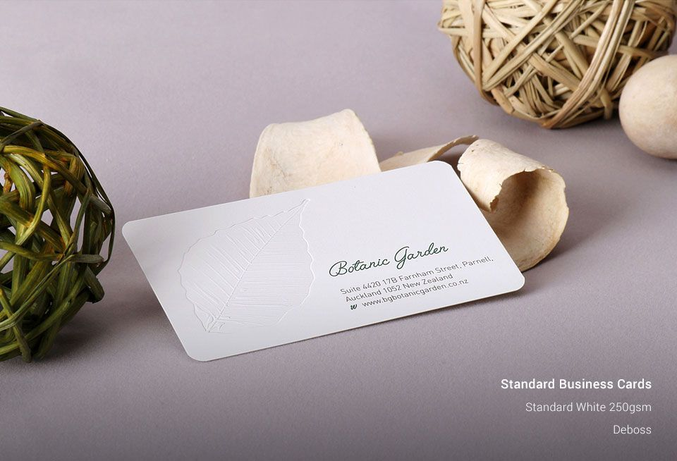 Standard business cards business card printing singaprinting reheart Image collections
