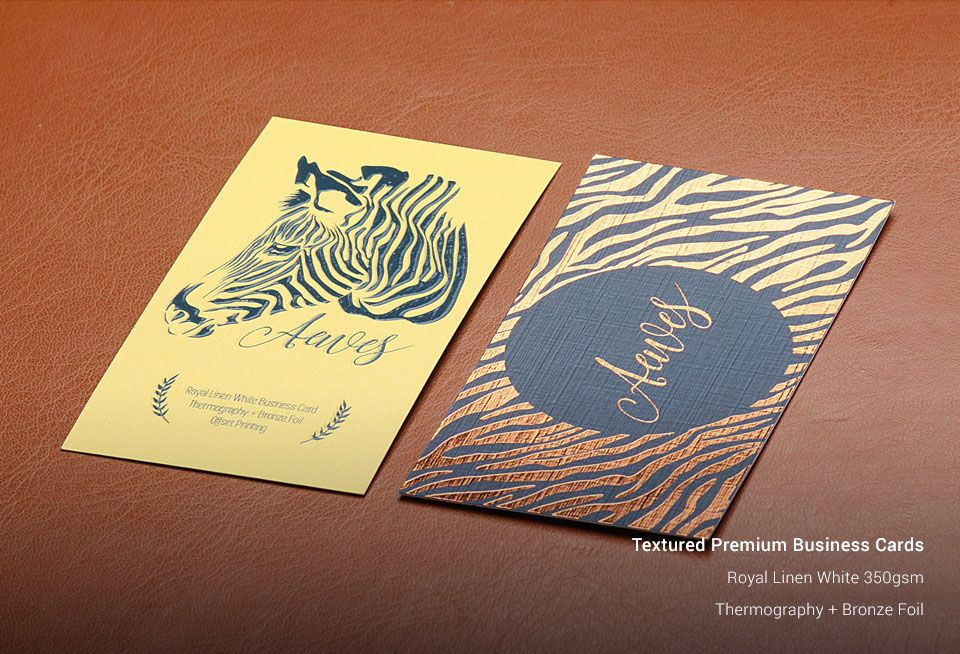 Textured Business Cards | Business Card Printing Services ...