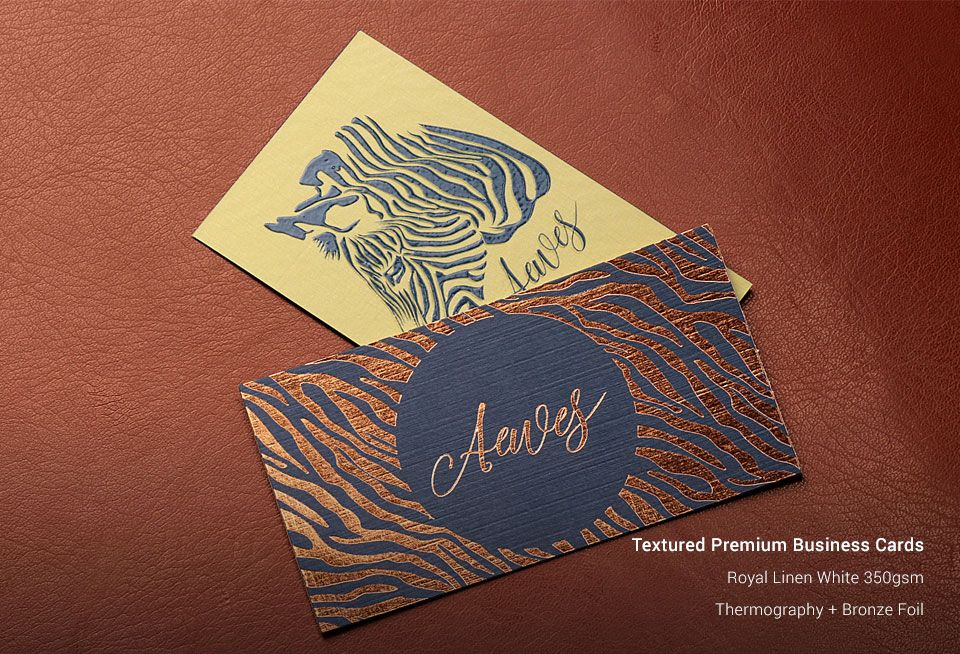 Textured Business Cards | Business Card Printing Services Singapore ...