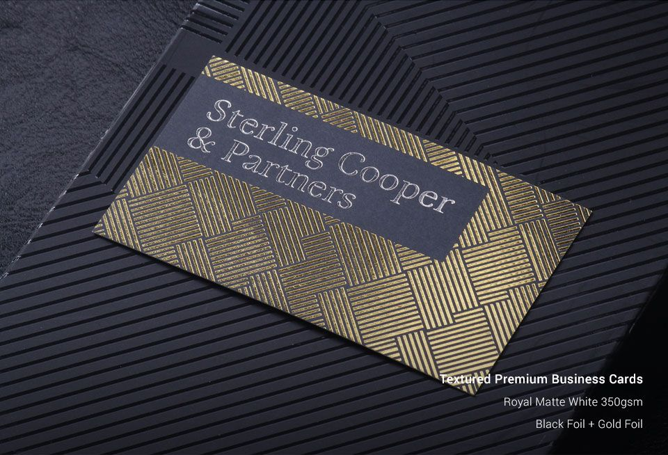 SingaPrinting | Textured Business Cards | Business Card Printing ...