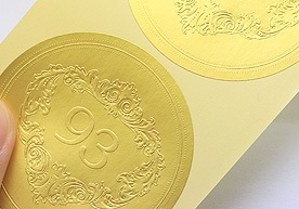 Cheapest Embossed Paper Stickers Sticker Printing
