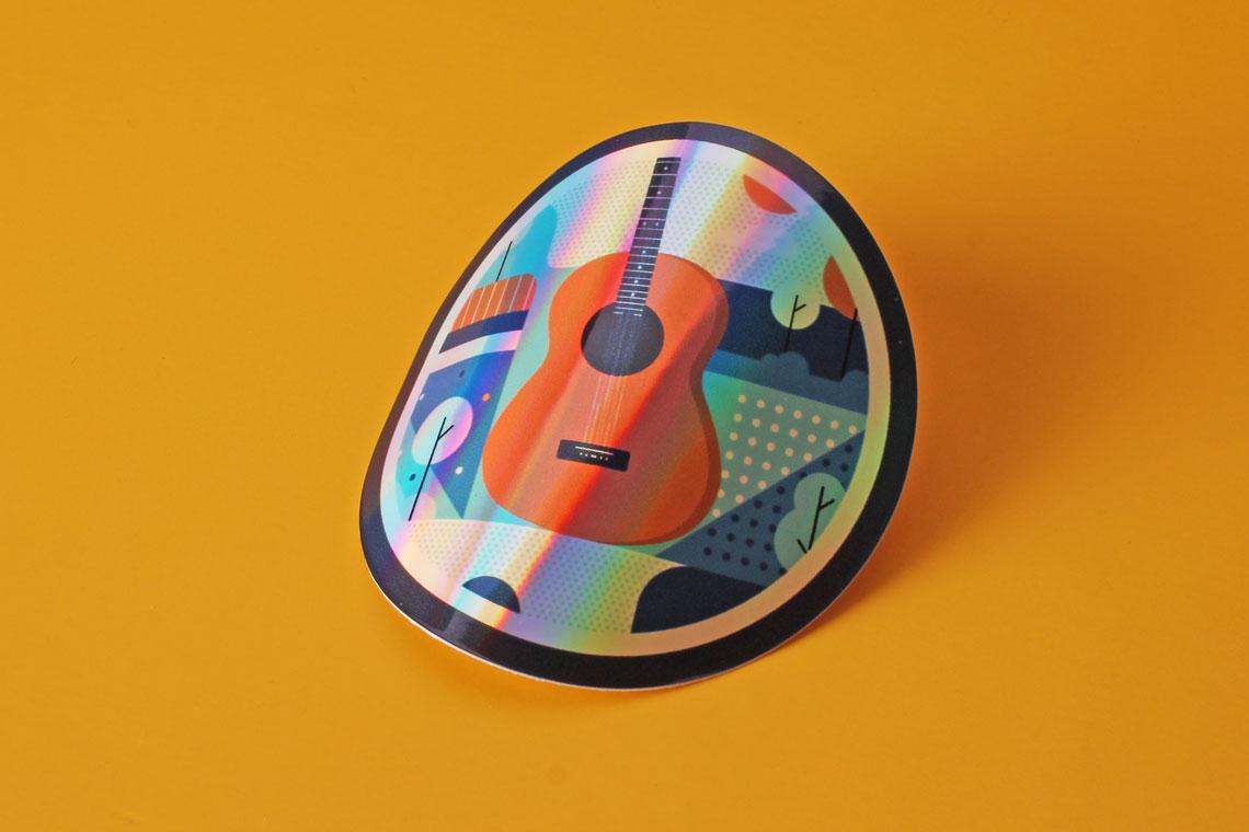 hologram sticker