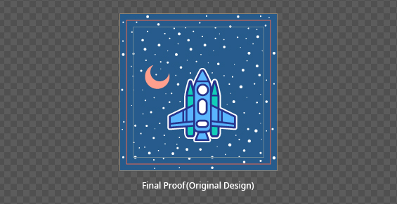 design without border final proofing