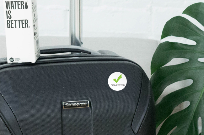 Luggage Disinfect Stickers