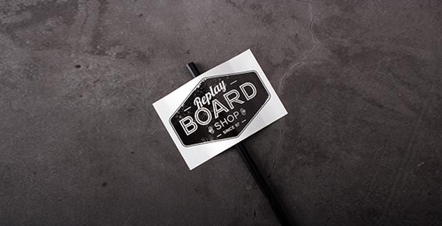 board shop art stickers