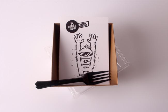 burger liquor cheap vinyl stickers