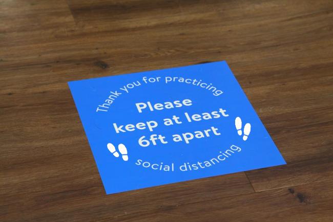 floor decal vinyl stickers