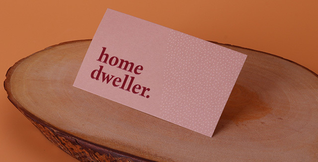 simple standard business cards