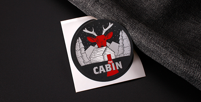 the cabin stickers