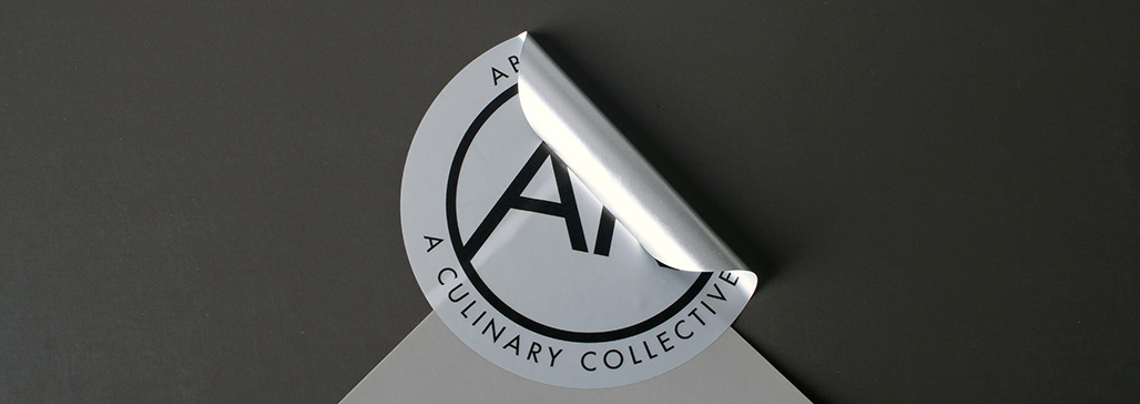Culinary Collective Foil Stickers