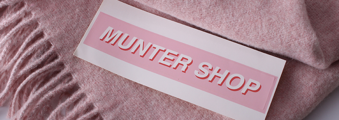 Munter Shop Stickers Custom Online